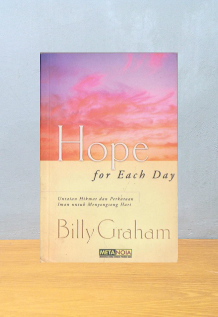HOPE FOR EACH DAY, Billy Graham