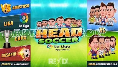 Download Game Android Head Soccer Mod La Liga 2017 [Unlimited Money]