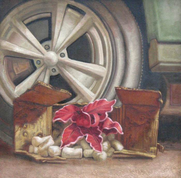 Канадский художник. Eric Budovitch