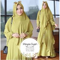 Jual Baju Busana Muslim Dress Meysa Syari
