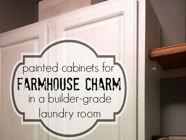 Adding Shelves and Storage to a Builder-Grade Laundry Room