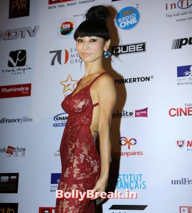 Bai Ling, Mumbai Film Festival 2014 Photos