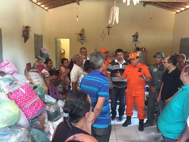 Além do combate aos focos de incêndio, o Estado também está providenciando ajuda para as comunidades atingidas. Foto: Agência de Notícias Maranhão
