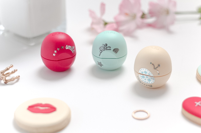 eos Holiday 2015 Collection lip balms