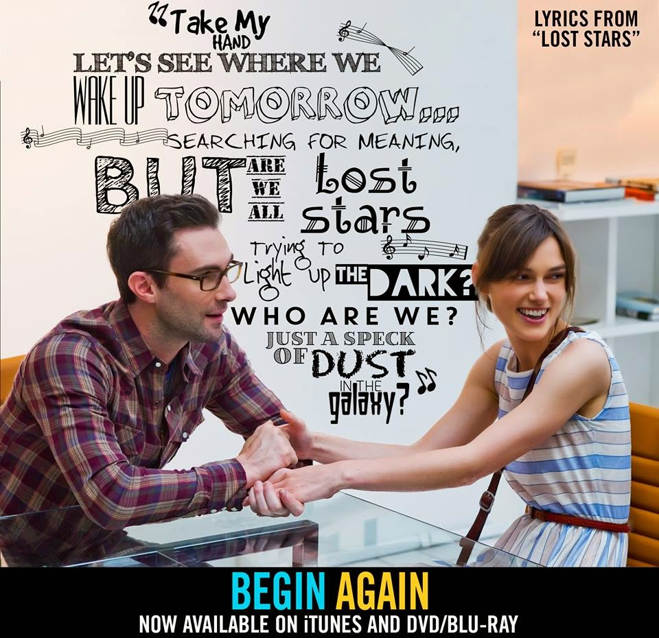 begin again soundtracks