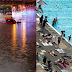 Βρετανία: Ο Βορράς «πνίγηκε» από τις βροχές και ο Νότος απόλαυσε την πιο ζεστή μέρα από το 1911 (photos)