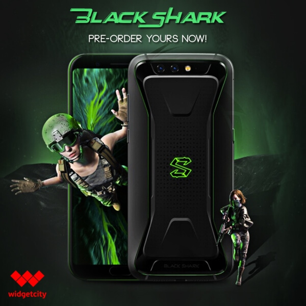 Black Shark Gaming Smartphone Now Up for Pre-order at Widget City; Price Starts at Php31,000