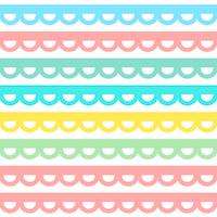 scalloped border pattern