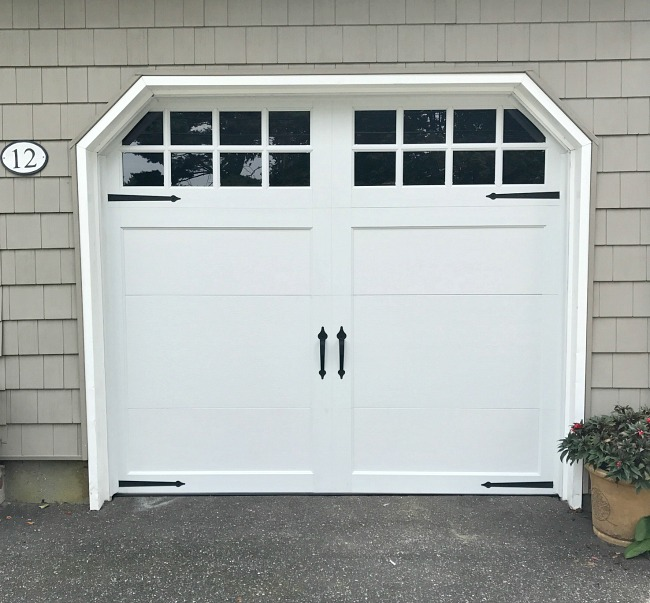 New updated garage door
