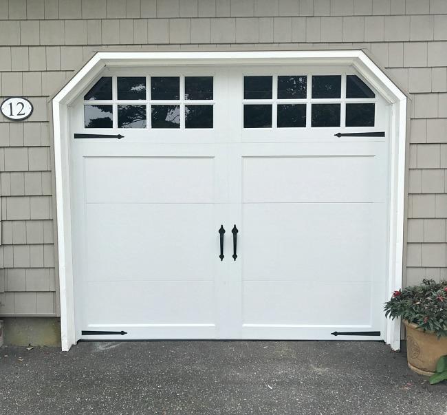 New updated garage door