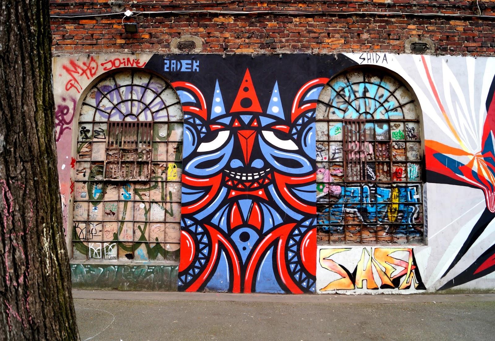 Lodz mural Łódź