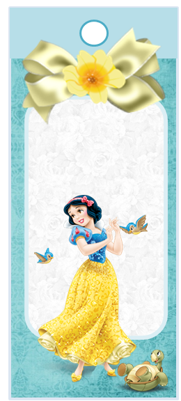 Snow White, Free Printable Bookmarks.