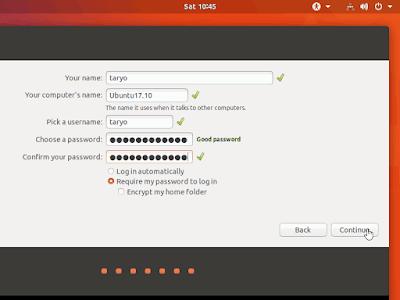 Cara Mudah Install Ubuntu 17.10 Artful Aardvark Final Rilis Terbaru