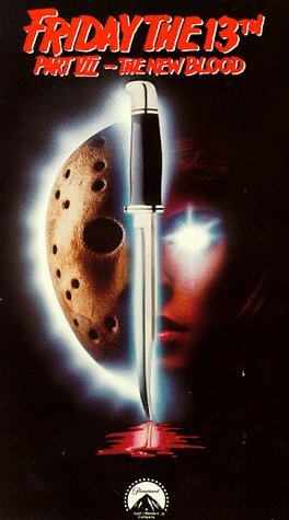 Poster Of Friday The 13th Part VII The New Blood 1988 720p BRRip Full Movie Download