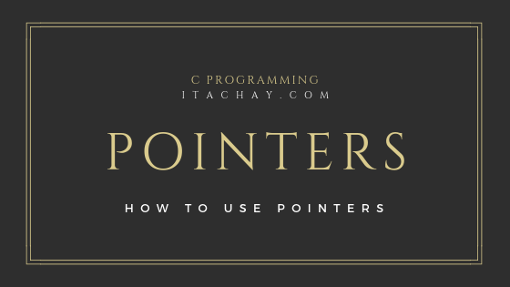 pointers in c programming