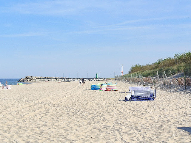 plaża przy porcie, Władysławowo