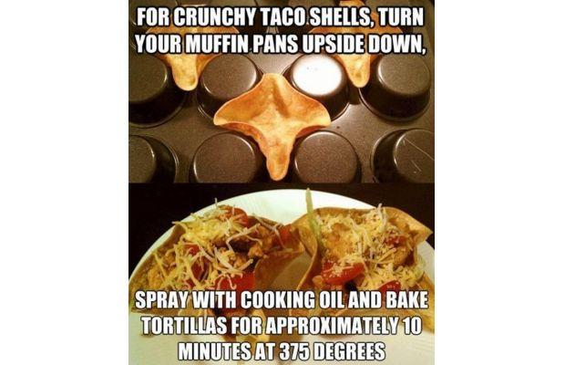Make DIY Taco Shells