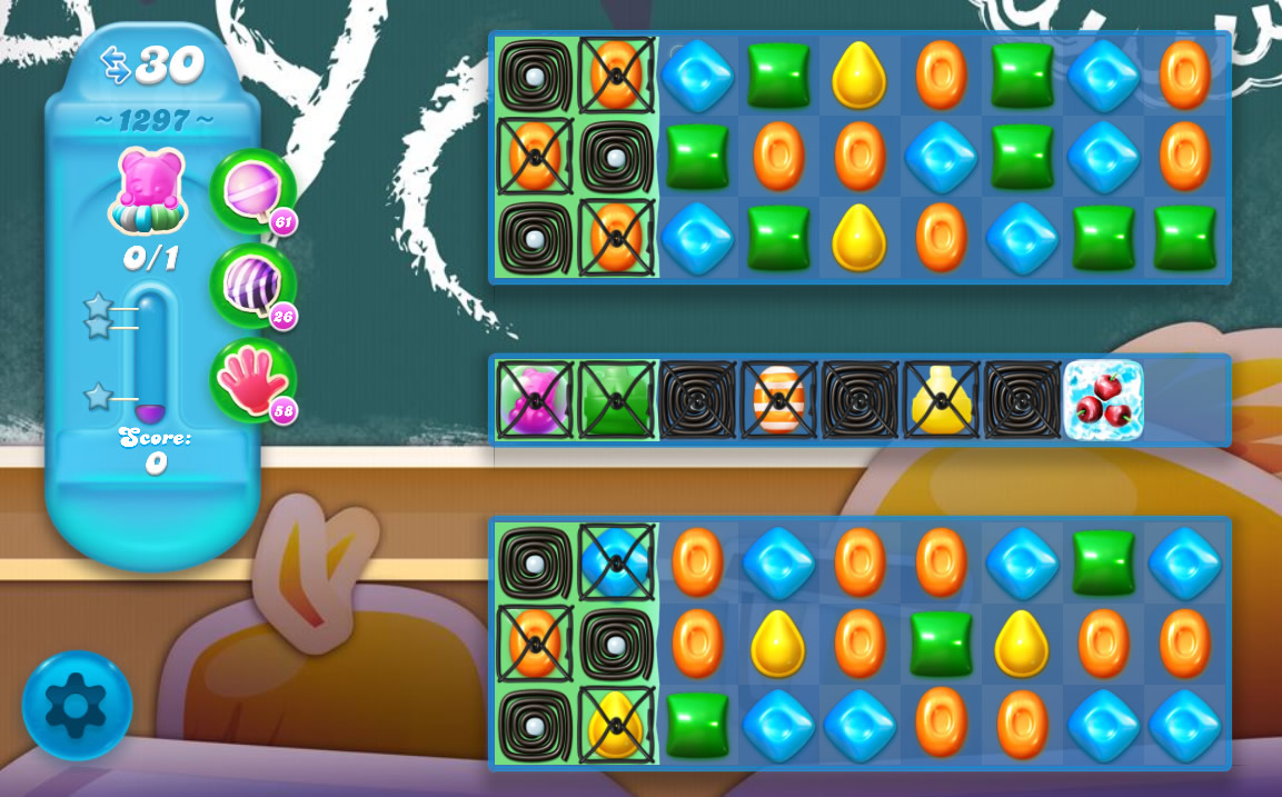 Candy Crush Soda Saga level 1297