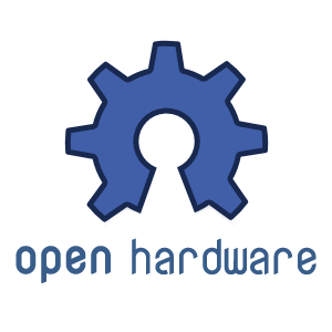 Opens Source Hardware Logo Selected