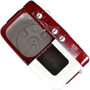 Best Intex 6.2 kg semi automatic washing machine top lid open
