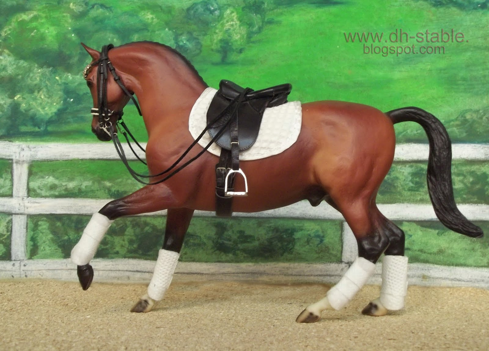 Dh Stable Modelli Di Cavalli Breyer Collecta Stone