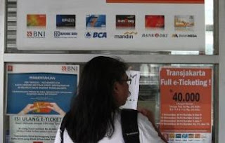 Tempat Transaksi Mandiri e-Money