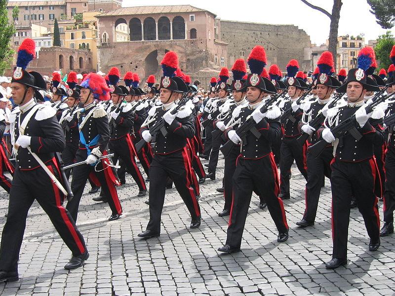 The Italian Monarchist Carabinieri Reali