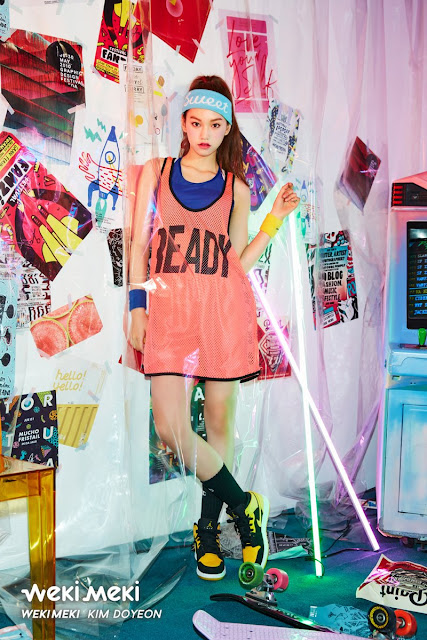 Weki Meki Foto Debut Weme Kim Doyeon