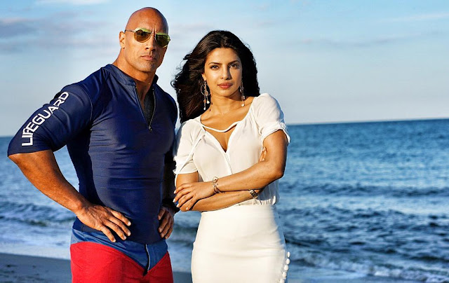 Dwayne Johnson shares a photo with Priyanka Chopra: every great story starts with a great villain.
