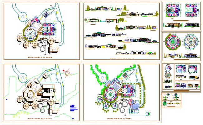 Plan de conception du centre de clinique dwg clinic for Plan de conception