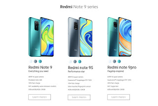 miui global redmi note 9 series