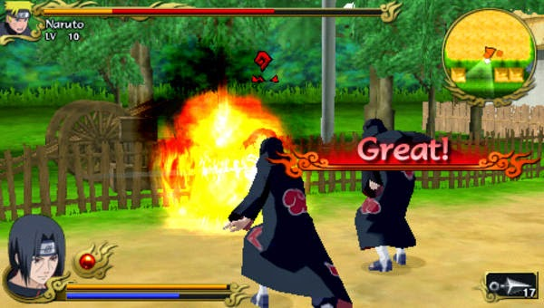 Naruto Shippuden: Legends Akatsuki Rising (USA) PSP ISO Screenshots #2
