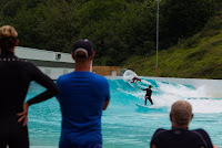 wavegarden Team USA surfing the Wavegarden