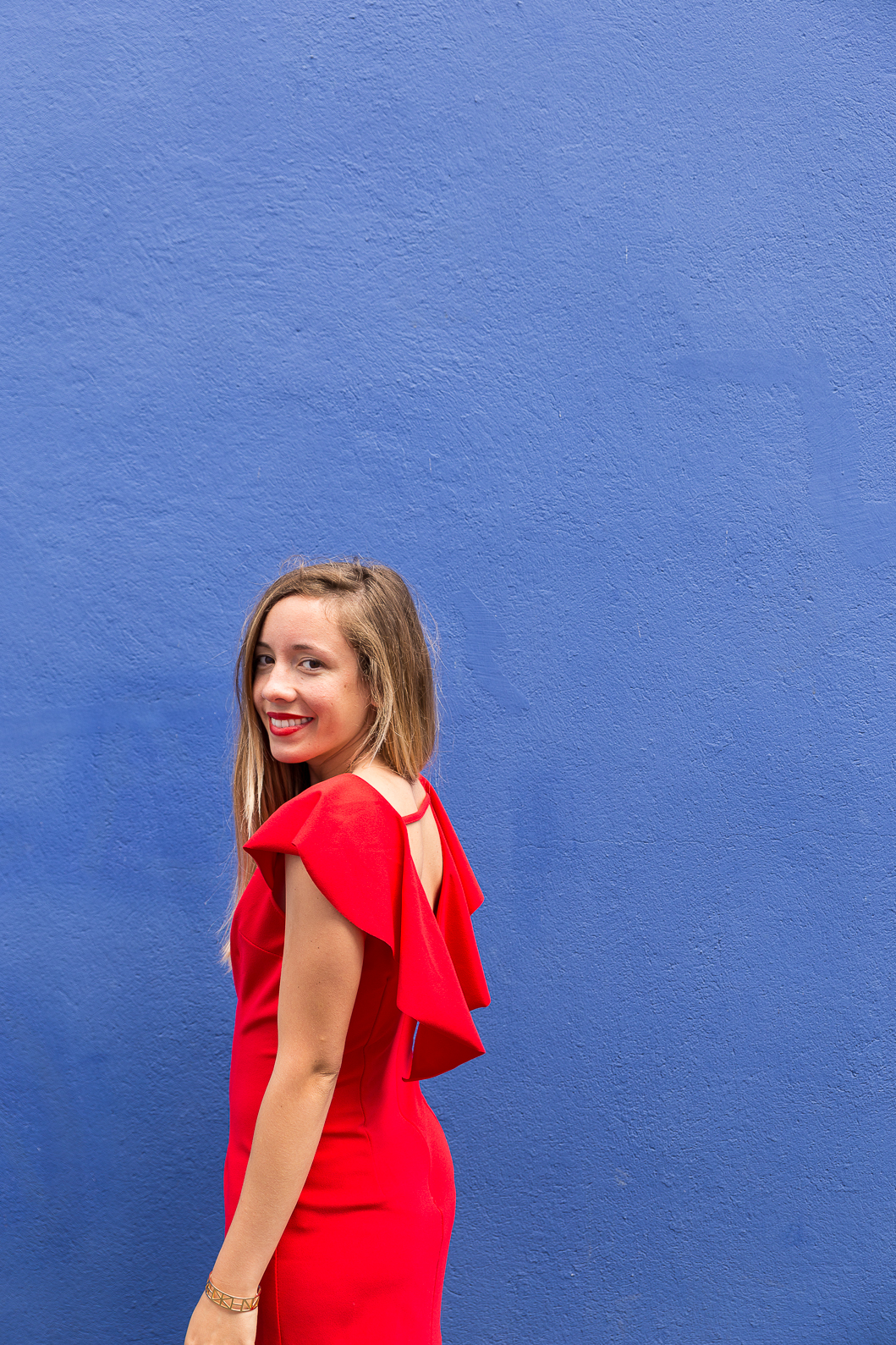 Robe rouge gémo