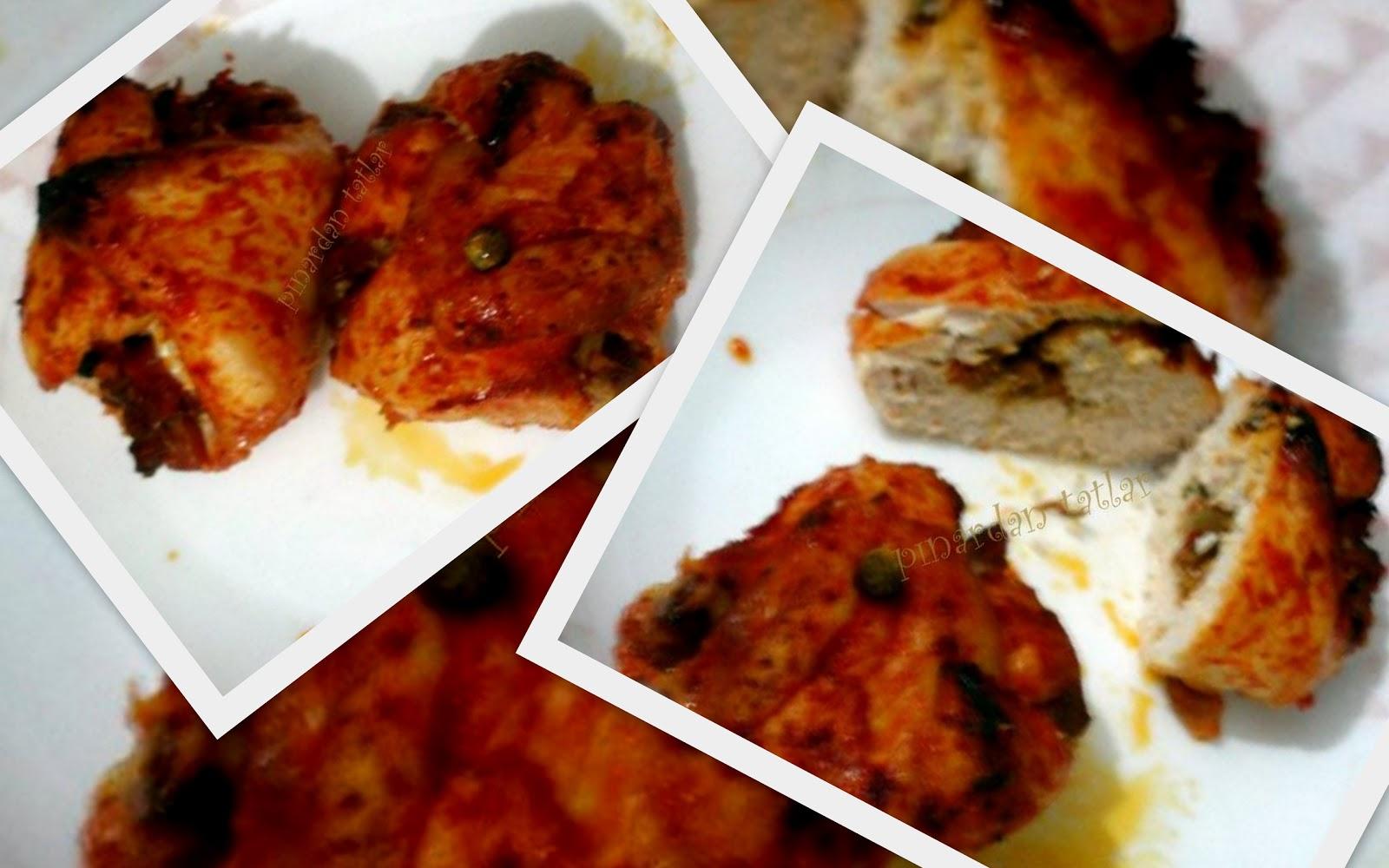 Kremalı Susamlı Tavuk Sarma Tarifi