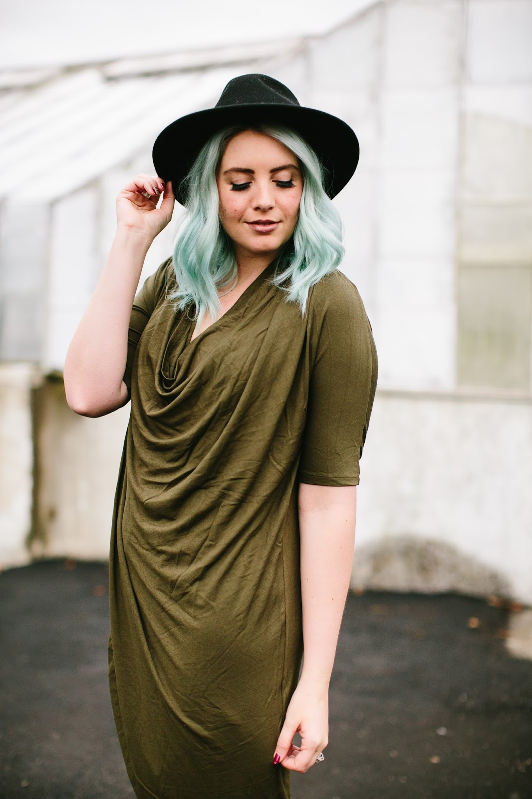 Draped Dress, Utah Fashion Blogger, Modesty