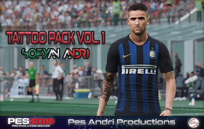 PES 2019 Tattoopack by Sofyan Andri