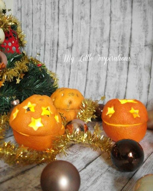 Come fare suggestive lanternine con arance intagliate - day 1 - MLI