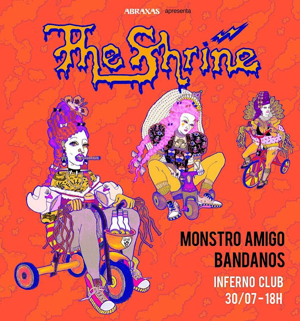 The Shrine se apresenta sábado em SP, no Inferno Club