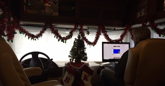 Its Xmas time in the RV