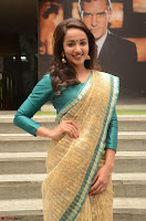 Tejaswi Madivada looks super cute in Saree at V care fund raising event COLORS ~  Exclusive 086.JPG