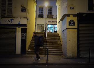 Rue des Degrés, a menor rua de Paris  © Laura Prospero