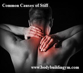 Stiff Neck Common Causes