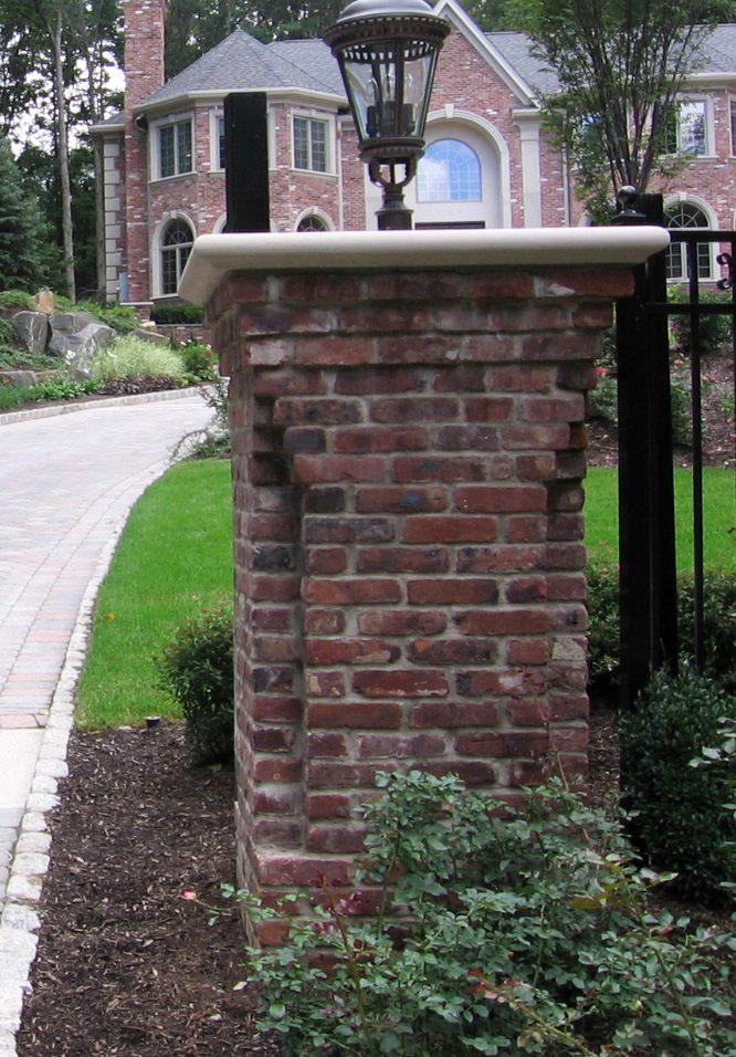 Brick Laminate Picture Brick Entry Gate
