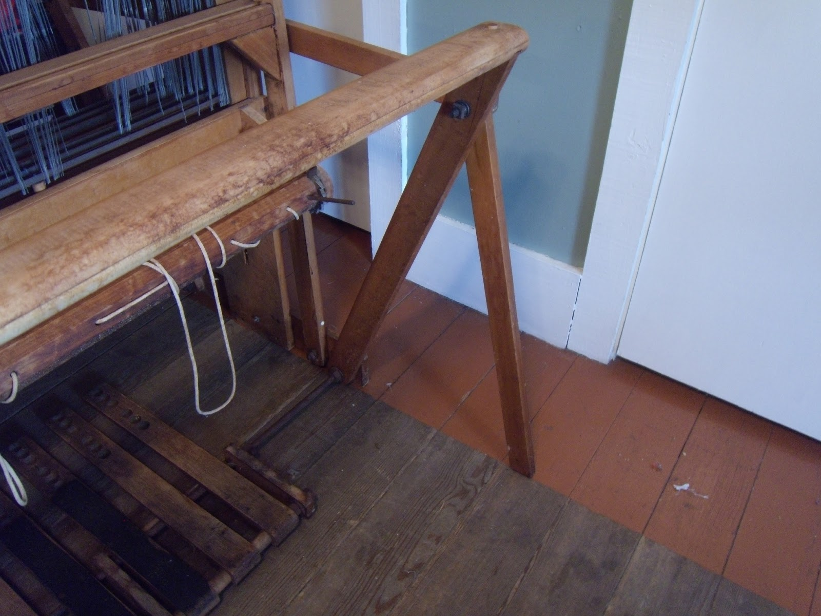 I have never seen a loom quite like this one, she folds up to save space if  you need, but she is in no way a portable!