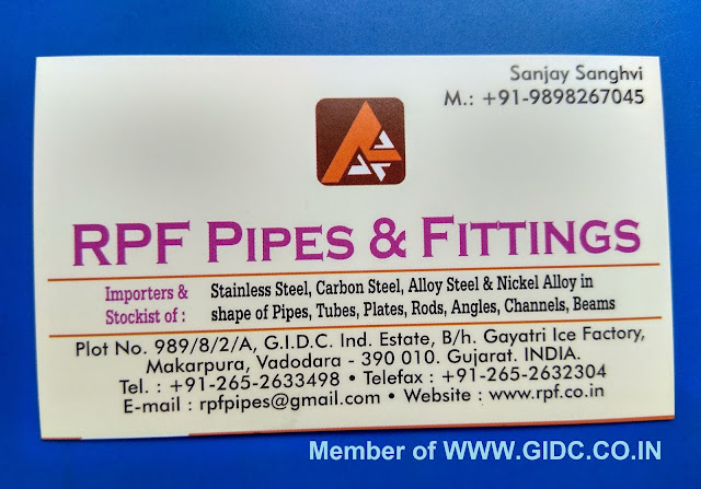 RPF PIPES AND FITTINGS - 9898267045
