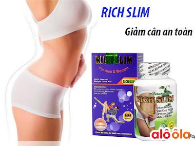 Thực phẩm chức năng giảm cân Rich Slim USA