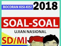 New Soal Prediksi UN SD/MI 2018 Plus Kunci Jawaban