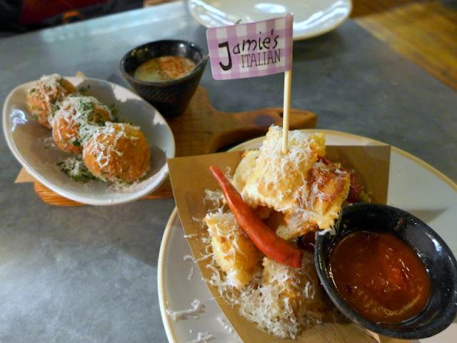 Jamies Italian Food Review