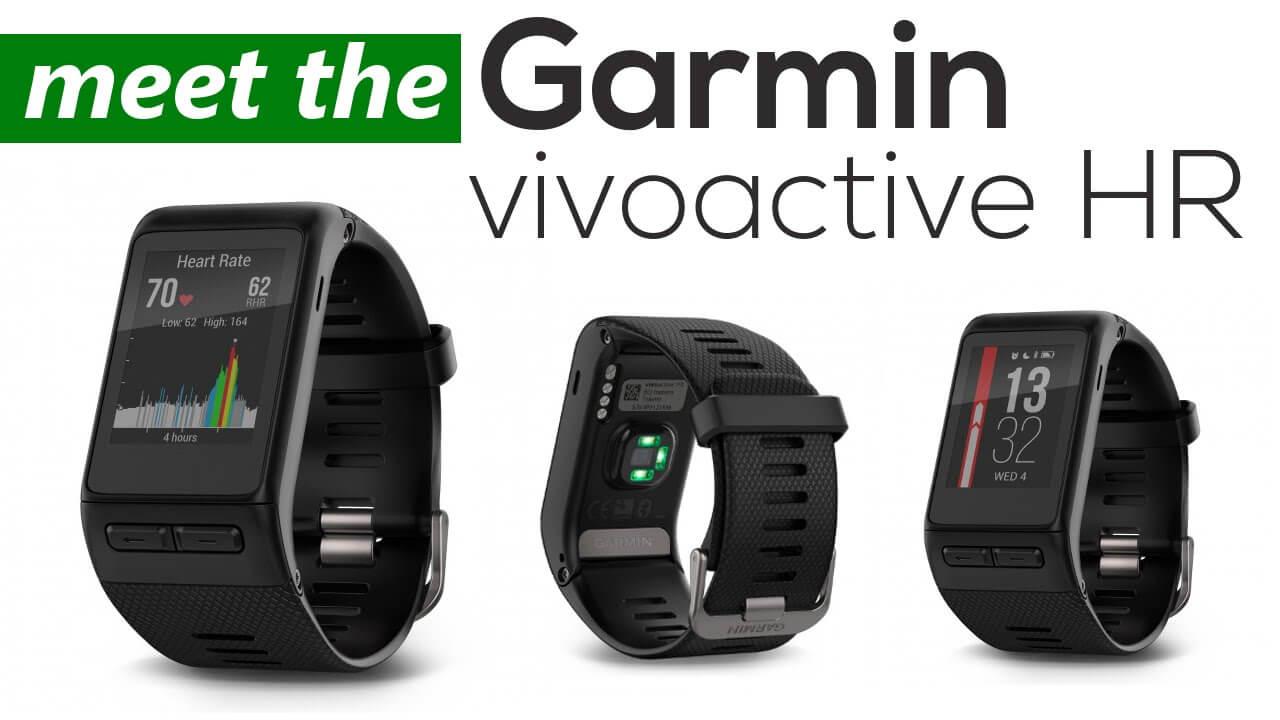 Garmin Vivoactive HR+